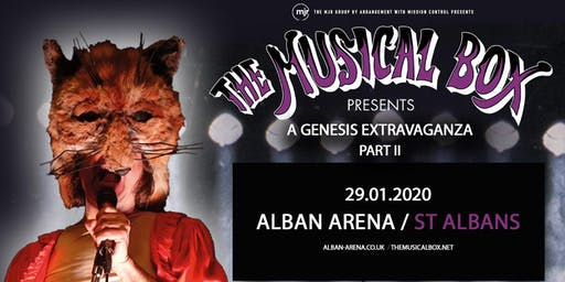 The Musical Box: A Genesis Extravaganza 2020 (Alban Arena, St Albans)
