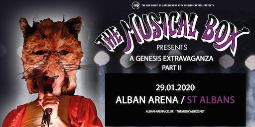 The Musical Box: A Genesis Extravaganza 2020 (Alban Arena, St Albans)