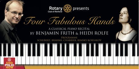 Four Fabulous Hands - A Classical Piano Recital tickets