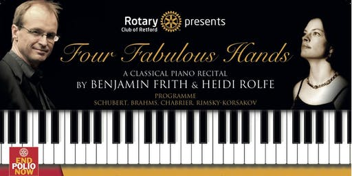 Four Fabulous Hands - A Classical Piano Recital