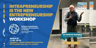 Intrapreneurship is the New Entrepeneurship Worksh