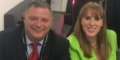 Dinner with Mike Amesbury MP & Angela Rayner, Shadow Secretary of State for Education