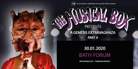 The Musical Box: A Genesis Extravaganza 2020 (Forum, Bath) tickets