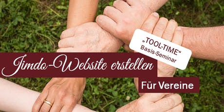 """Tool Time"" - Tagesseminar Jimdo-Website erstellen Tickets"