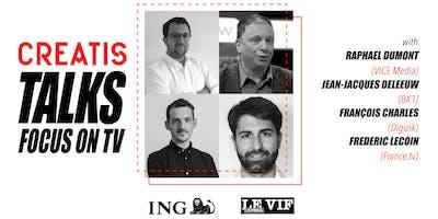 Brussels Creatis Talks - Focus on tv w/ Vice, BX1 & Guests