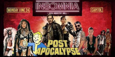 Insomnia Industry Ball 2019 tickets