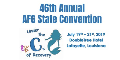 46th Annual AFG State Convention -  tickets
