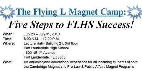 Fort Lauderdale High Magnet Programs: Flying L Magnet Camp tickets