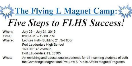 Fort Lauderdale High Magnet Programs: Flying L Magnet Camp entradas