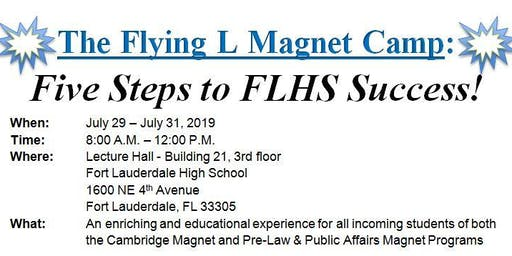 Fort Lauderdale High Magnet Programs: Flying L Magnet Camp