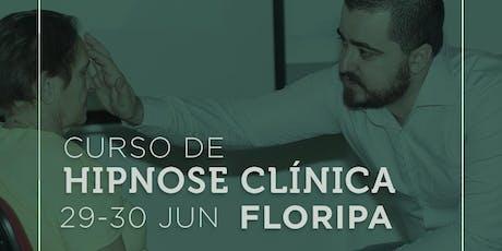Curso de Hipnose Clínica em Florianópolis ingressos