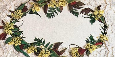 July Victorian Pressed Flower Workshop