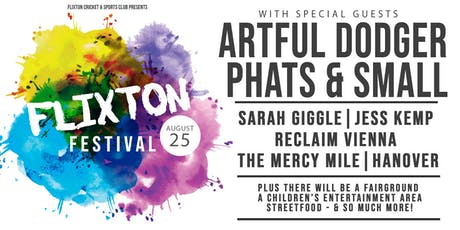 Flixton Festival 2019 tickets