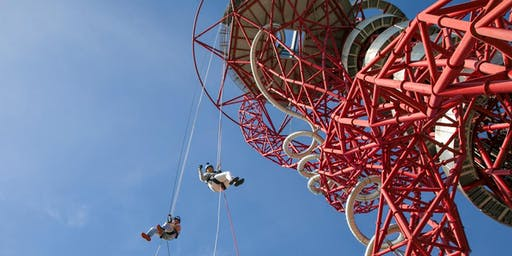 Abseil the Arcelormittal Orbit with The Kids Network