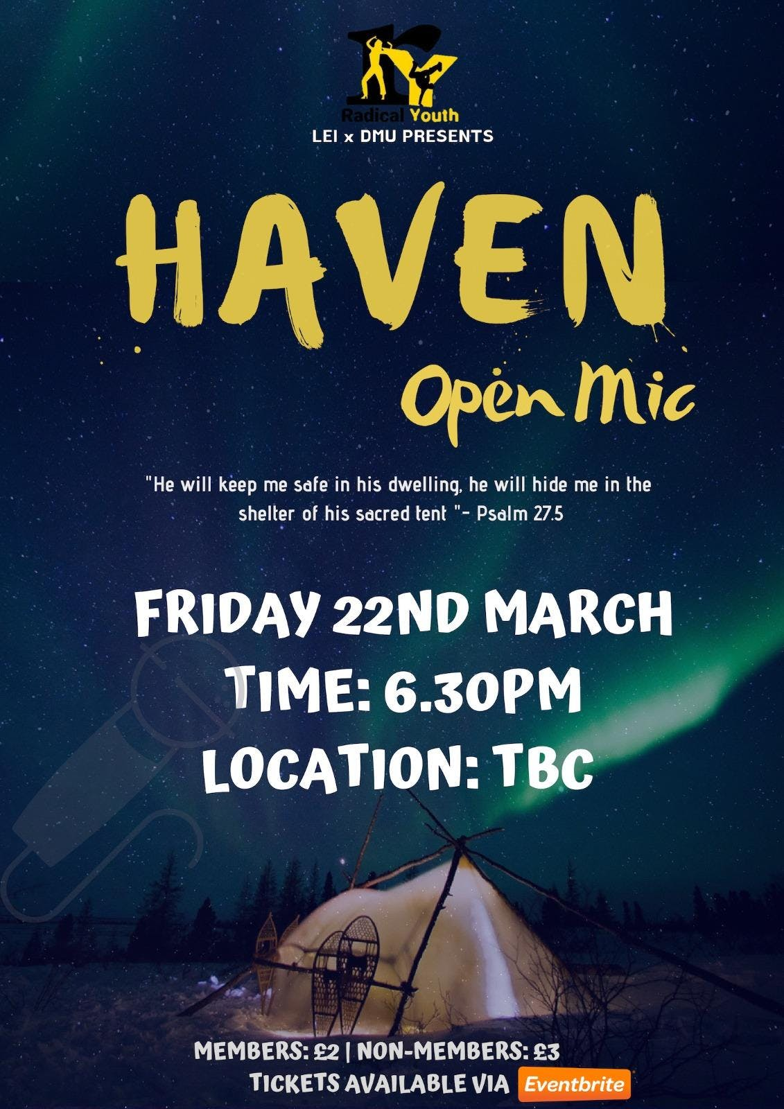 Radical Youth Presents: Open Mic