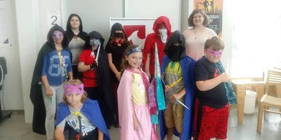 COSPLAY SUMMER CAMP in the Fab Lab, superhero, villains, gaming, gamers