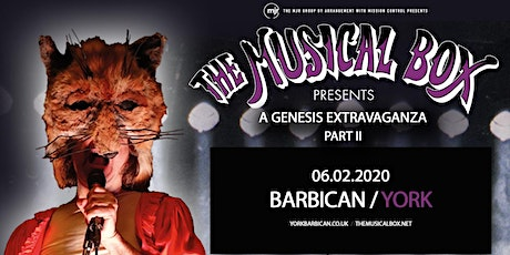 The Musical Box: A Genesis Extravaganza 2020 (Barbican, York) tickets