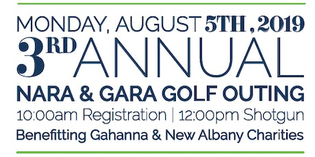 3rd Annual New Albany and Gahanna Golf Outing tickets