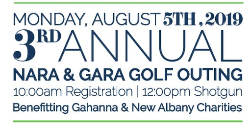 3rd Annual New Albany and Gahanna Golf Outing