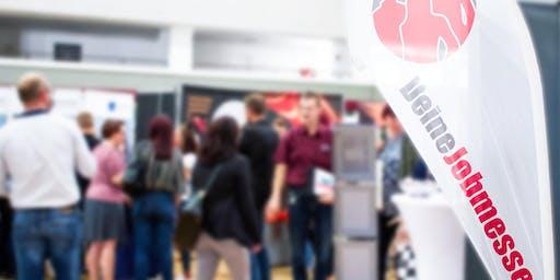3. Jobmesse Frankfurt am 16. Oktober 2019 in der Jahrhunderthalle