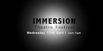 Immersion Theatre Festival