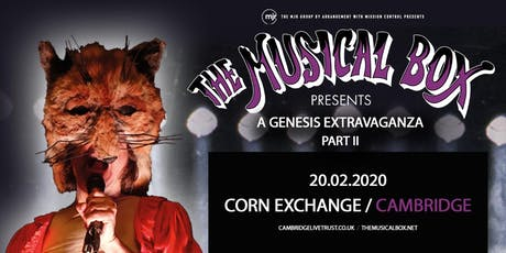 The Musical Box: A Genesis Extravaganza 2020 (Corn Exchange, Cambridge) tickets