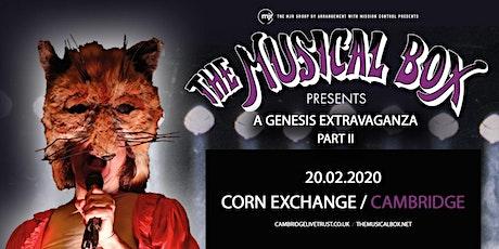 The Musical Box: A Genesis Extravaganza 2020 (Corn Exchange, Cambridge) tickets