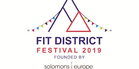 Fit District Festival 2019 tickets