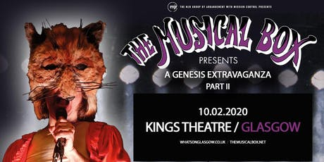The Musical Box: A Genesis Extravaganza 2020 (Kings Theatre, Glasgow) tickets