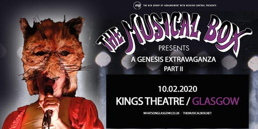 The Musical Box: A Genesis Extravaganza 2020 (Kings Theatre, Glasgow)