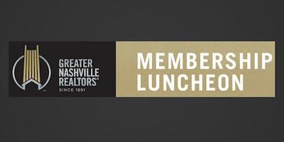 Greater Nashville REALTORS Nashonomics Panels and Membership Luncheon