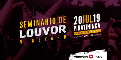 Seminário de Louvor Vineyard - 2019  tickets