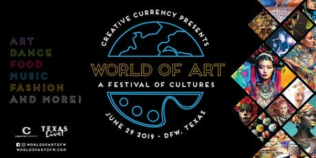 World of Art Festival tickets