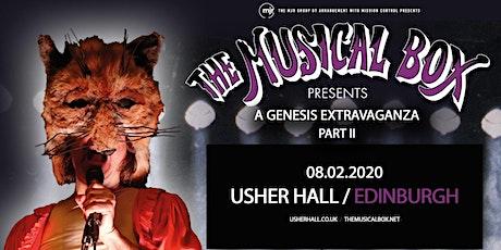 The Musical Box: A Genesis Extravaganza 2020 (Usher Hall, Edinburgh) tickets
