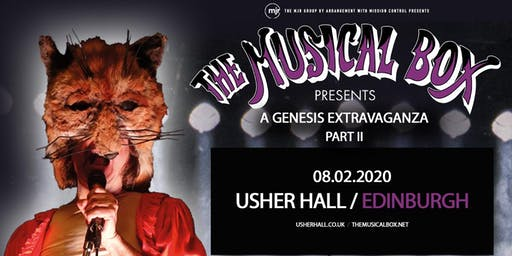 The Musical Box: A Genesis Extravaganza 2020 (Usher Hall, Edinburgh)