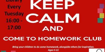 Home Work Club - Lea Bridge Library