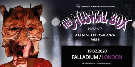 The Musical Box: A Genesis Extravaganza 2020 (Palladium, London) tickets