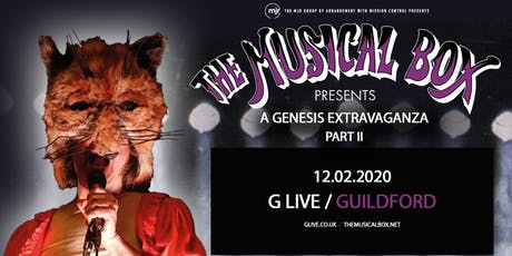 The Musical Box: A Genesis Extravaganza 2020 (G Live, Guildford) tickets