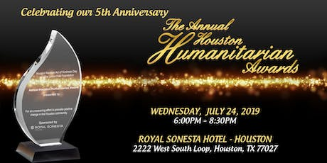 The 5th Annual Houston Humanitarian Awards tickets