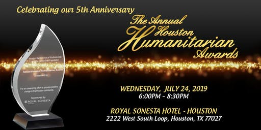 The 5th Annual Houston Humanitarian Awards