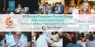 June BCBumps Expectant Parent Dinner: Baby Basics Bootcamp!