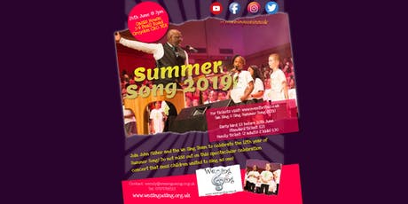 We Sing U Sing Summer Song 2019 tickets