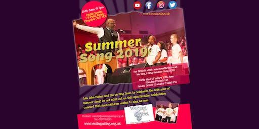 We Sing U Sing Summer Song 2019