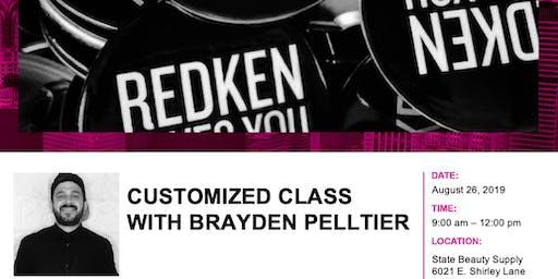 Redken Customized Class with Brayden Pelltier