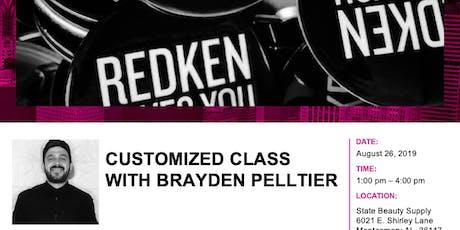 Redken Customized Class with Brayden Pelltier tickets