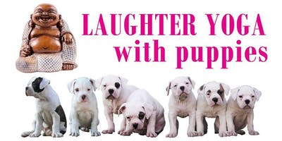 Laughter Yoga With Puppies