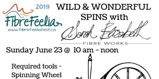 Wild & Wonderful Spins with Sarah Elizabeth