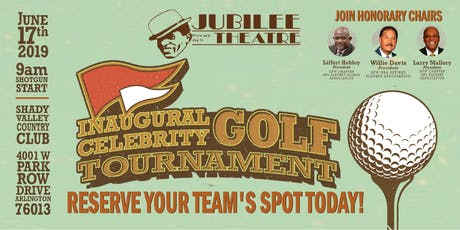 Jubilee Theatre's Inaugural Celebrity Golf Tournament tickets