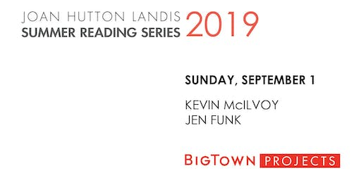 JHL SUMMER READING SERIES: Kevin McIlvoy, Jen Funk