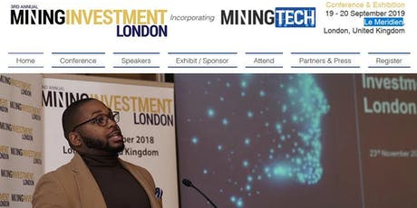 3rd Annual Mining Investment London (SPI) tickets